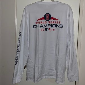 Vineyard Vines Boston Red Sox Champion Tshirt